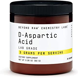 Beyond Raw Chemistry Labs D-Aspartic Acid, 30 Servings