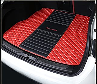 Eppar New Protective Rear Trunk Mats 1PC for Maserati Levante 2016-2018 (Red+Black)