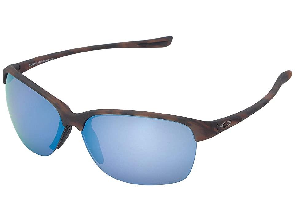Oakley Unstoppable (Matte Brown Tortoise w/ Prizm Deep Polarized) Fashion Sunglasses