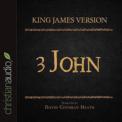 Page de couverture de The Holy Bible in Audio - King James Version: 3 John