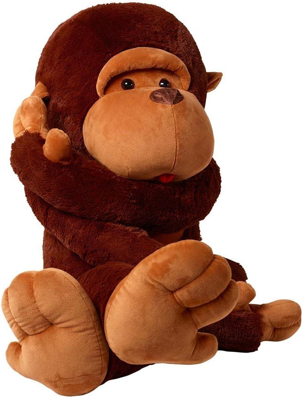 YunNasi Plush Monkey Animal Toys Cuddle Orangutan for Girfriend Gifts (43 Inches)