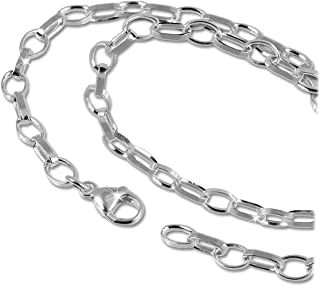 SilberDream D3FC00XK - Collana in argento Sterling 925, con ciondolo in argento