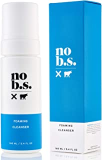 No B.S. Foaming Cleanser - Natural Face Wash For Women and Men - Gentle Facial Cleanser, Great For Daily Use. Acne Face Wash And Exfoliator.