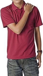 31d391092468eb ティーシャツドットエスティー ポロシャツ ドライ 半袖 無地 UVカット 4.4oz メンズ …
