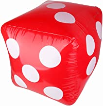 Baoblaze Inflatable Large Dice Kids Children Games Toys 23.6 Inch