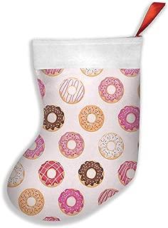 Glazed Donuts Christmas Socks Girls Boys Slipper Socks Kids Winter Socks for Christmas Gift