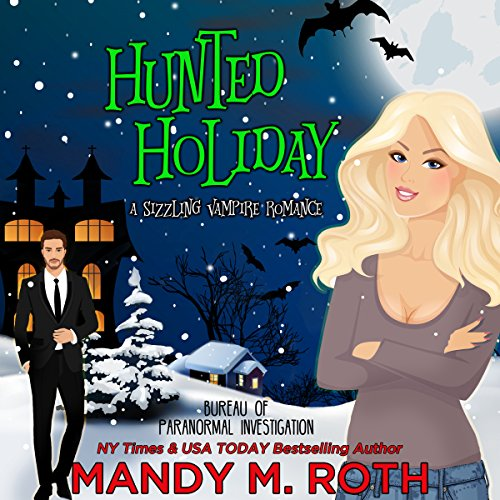 Hunted Holiday audiobook cover art