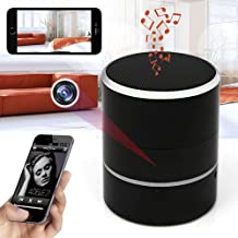 Hidden Camera 1080P WiFi HD Spy Cam - Bluetooth Speakers Wireless Mini Camera Rotate 180° Video Recorder Motion Detection Real-Time View Nanny Cam