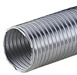 Tubo flexible de aluminio de 2,60 m, diámetro 160 mm, 160 mm, resistente al calor