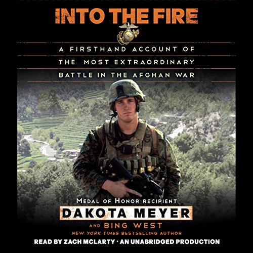 Into the Fire: A Firsthand Account of the Most Extraordinary Battle in the Afghan War Titelbild