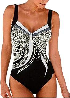 b00e75c195 LMMET Costume da Bagno Donna Intero Sexy Brasiliana Costumi Interi A Fascia  Donna Bikini Intero Perizoma
