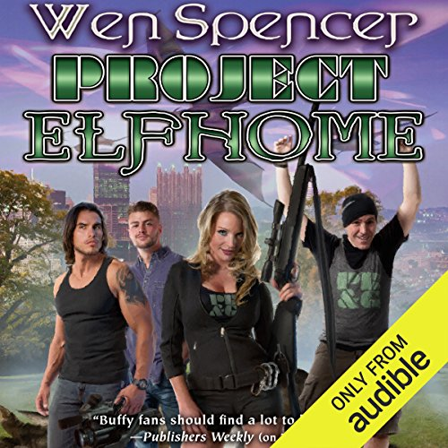 Project Elfhome audiobook cover art