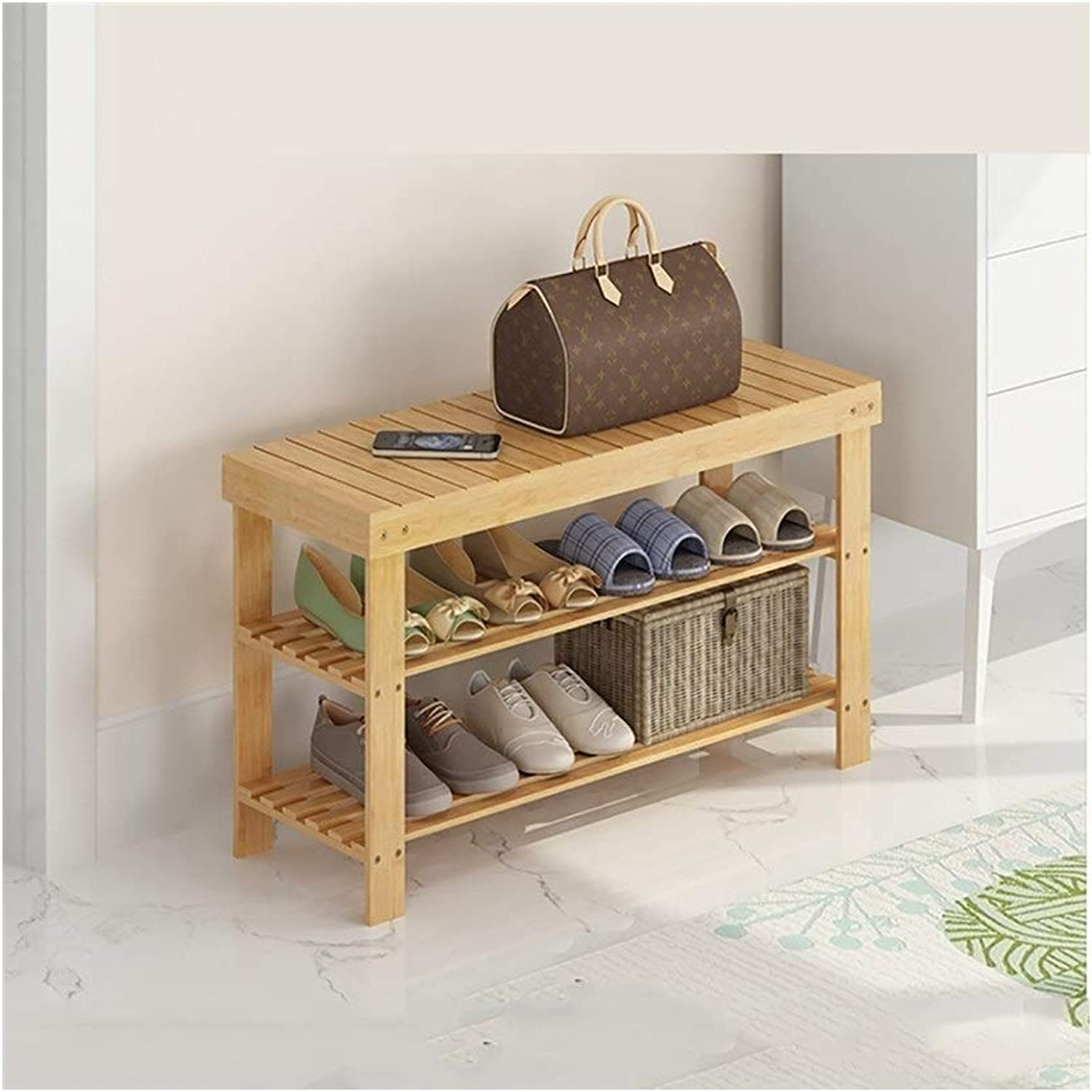 shoes Rack Organizer Storage, Solid Wood shoes Bench, Entrance Door Stool, shoes Bench, shoes Rack. (Size   80  28  45CM)