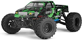 BBM HOBBY HBX 1:18 Scale All Terrain RC Car 18859E, 30+MPH High Speed 4WD Electric Vehicle with 2.4 GHz Radio Controller, Waterproof Off-Road Truck Included Battery and Charger(Green/Red)