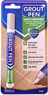 Grout Pen – Winter Grey – Restore The Look of Kitchen and Bathroom Tile Grout..