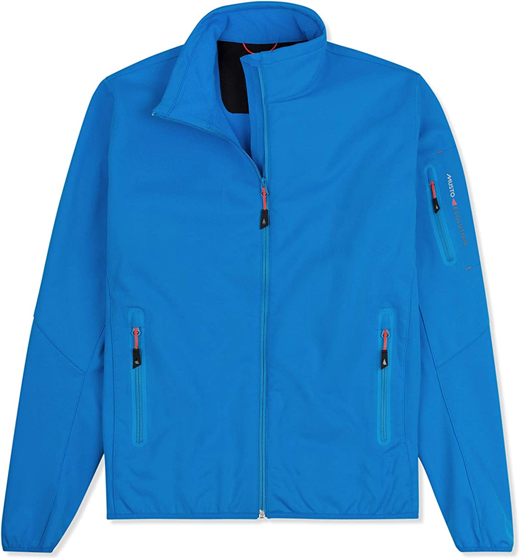 Musto Womens Crew Softshell Coat Jacket Brilliant bluee EWJK047Easy Stretch Breathable