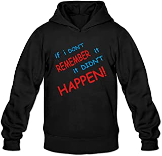 Men's Vintage If I-don't-remember-it Hoodies Sweatshirt