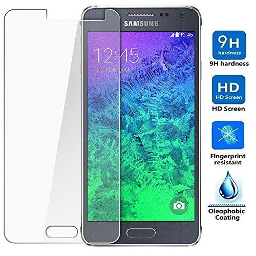 REY Protector de Pantalla para Samsung Galaxy A5 2016 Cristal Vidrio Templado Premium