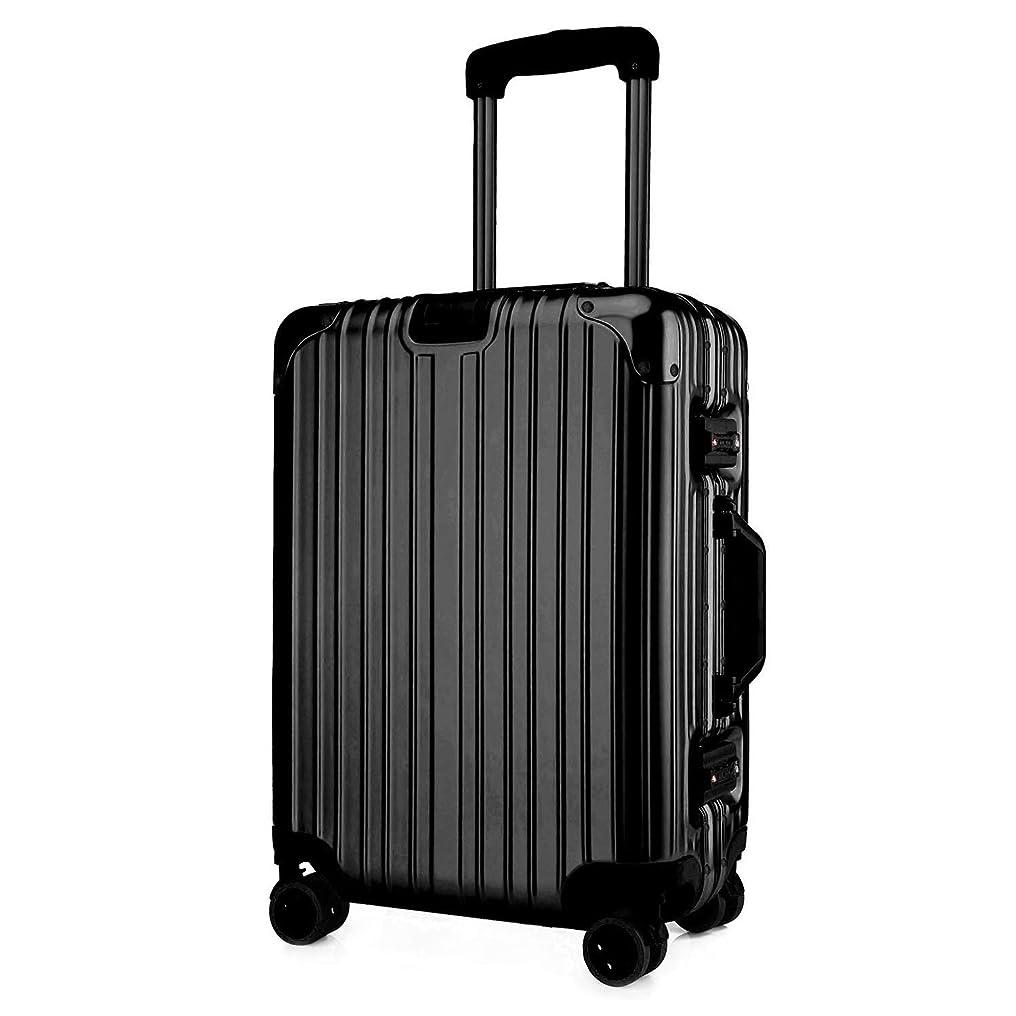 ポスターナース座標クロース(Kroeus)スーツケース TSAロック搭載 キャリーケース アルミフレーム ベルトフック付き 旅行 軽量 8輪 鏡面