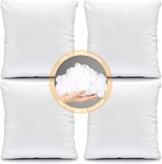 Cotton Pillow Inserts Decorative Pillows Inserts Covers Home Kitchen