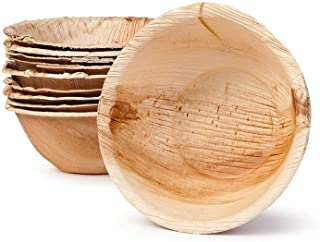 disposable wooden plates and bowls