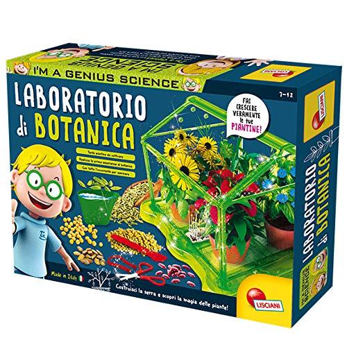 Lisciani Giochi- I'm a Genius Laboratorio di Botanica Gioco Scientifico, 84258