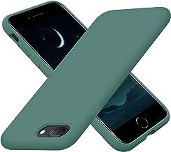 Cordking iPhone 8 Plus Case, iPhone 7 Plus Case, Silicone Ultra Slim Shockproof Phone Case with [Soft Anti-Scratch Microfi...