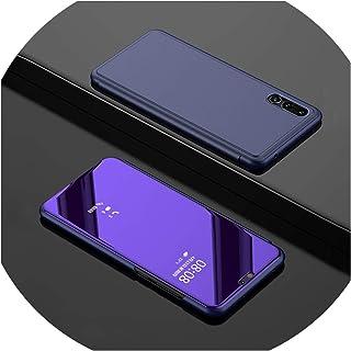 0f422a8ca67 Smart Mirror Flip Phone Case for Samsung Galaxy S10E S9 S8 S10 Plus S7 Edge  Clear
