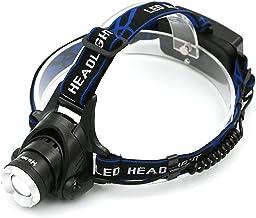 CHANGXINBH Hoofd Zaklamp LED Koplamp Aluminium 5000lm XML T6 Zoom Hoofd Zaklamp Verstelbare Hoofd Lamp 18650 Batterij Voor...