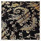 Tessuto Cotone, Tessuto Broccato Imitazione Tessuti di Seta Tessuto Floreale per Cucire Tessuti di Raso per Abiti