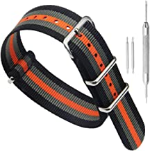 High-end Superior NATO Style Ballistic Nylon Watch Band Strap Replacement for Men
