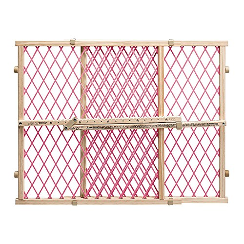 Evenflo Position and Lock KVIbFb Pressure Mount Gate, Pink (2 Units)