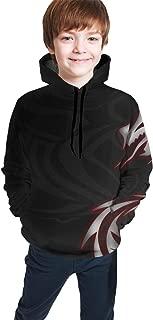 Pullover Hoodie Hooded Sweatshirt for Boys Girls Teens Junior, Winter Tops