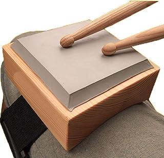 ドラム 練習 パッド 膝当て用タイプ トレーニングパッド 高弾 静音 簡単調節 携帯便利