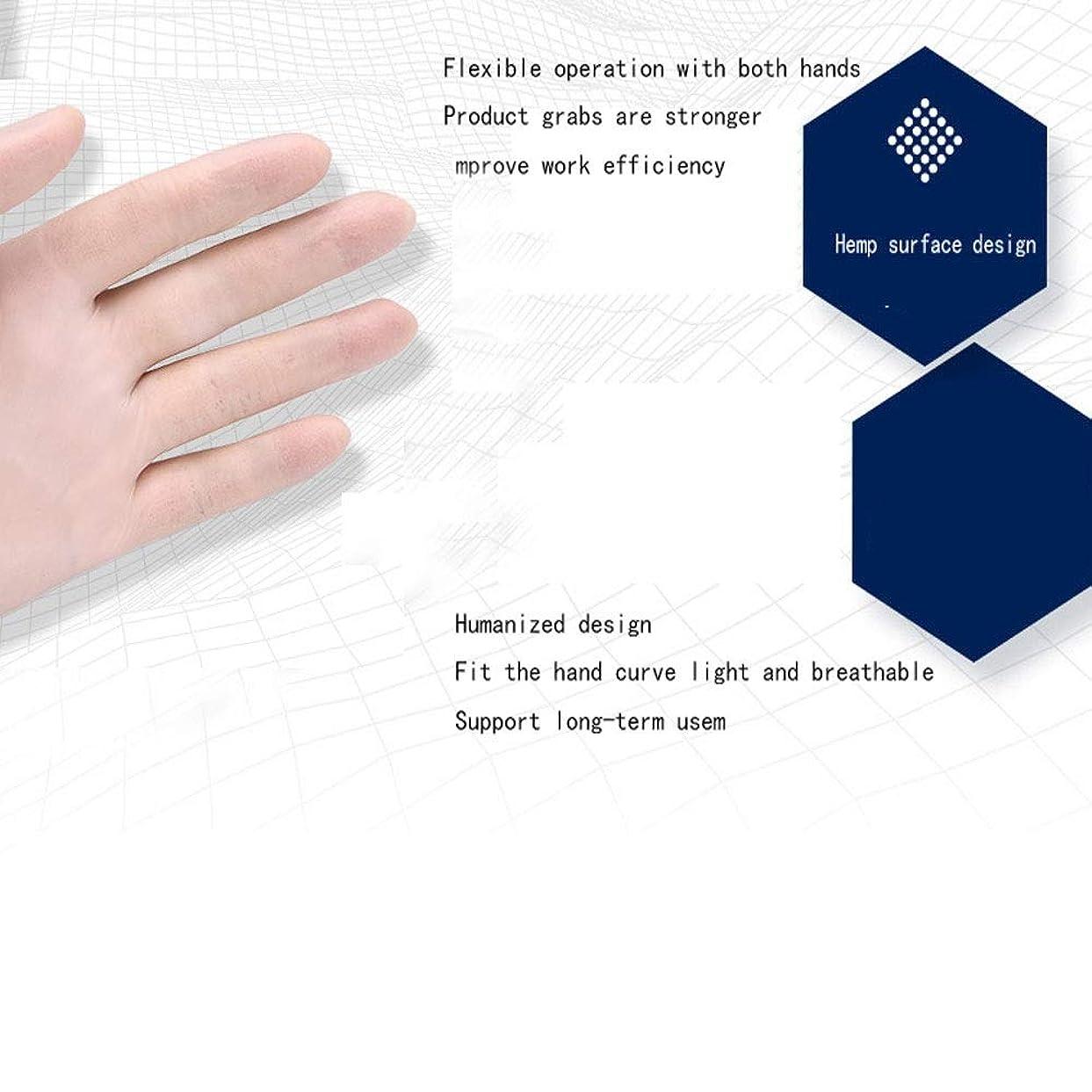 合法まともな直立Safeguard Nitri Disposable Gloves、パウダーフリー、食品用グローブ、ラテックスフリー、100 Pcサニタリーグローブ (サイズ さいず : S s)
