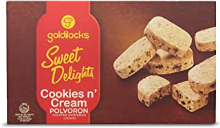 Goldilocks Sweet Delights Cookies n' Cream 10.60oz (300g) 12 Pieces