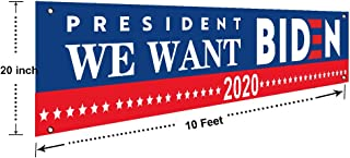 2020 for President Large Banners Outdoor Yard Sign and Indoor Sign with Metal Grommets,New,Store,Advertising,Flag