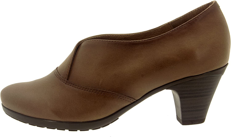 PieSanto PieSanto PieSanto Woherrar 3432 läder Comfort gående skor Extra Depth  beställa online
