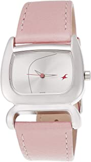 Fastrack Casual Watch for Women, Leather - 6091SL01
