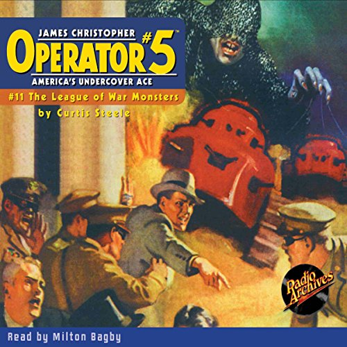 Operator #5 #11, February 1935 audiobook cover art