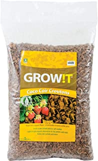 Hydrofarm Growt AD113000 Coco-Can Croutons, 28 Liter, 28 L