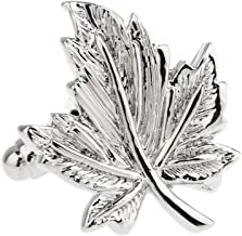 maple leaf cufflinks
