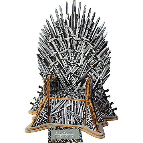 Juego de Tronos- Game of Thrones Puzzle 3D de Madera, 56 Piezas (Educa Borrás 17207)