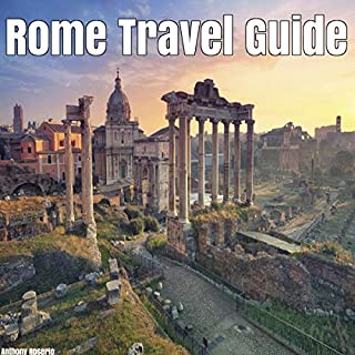 Rome Travel Guide audiobook cover art