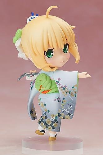 Fate  Stay Night Chara Forme PVC Statue Saber Kimono Version 10 cm Aniplex