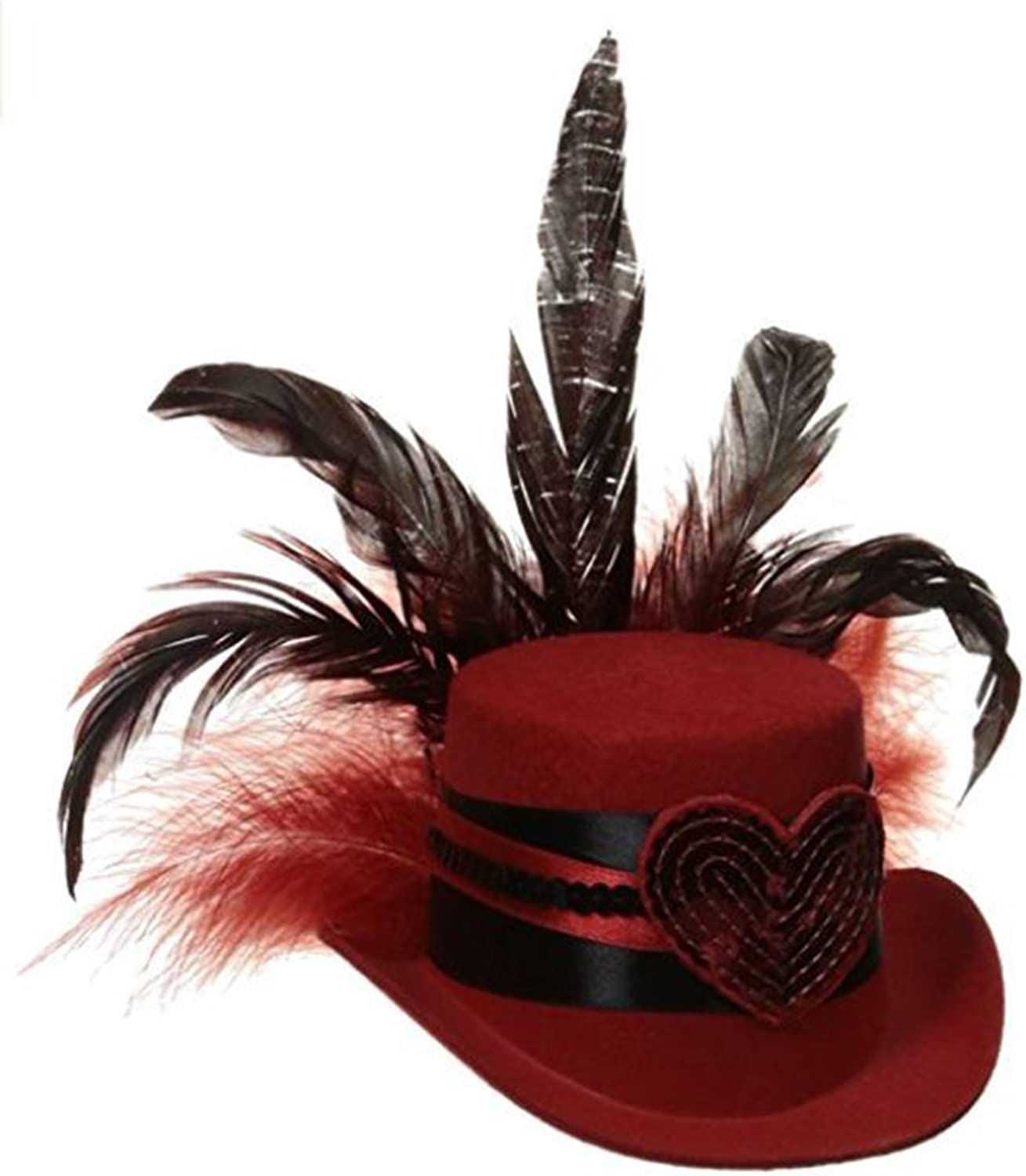 Mystery House Queen of Hearts Hat Costume Accessory