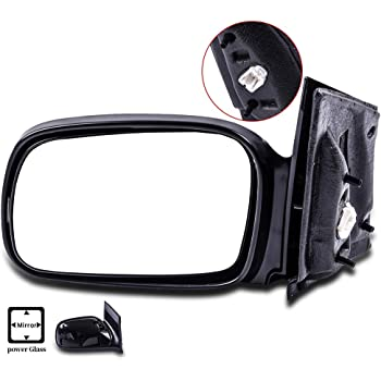 CTCAUTO Left Side View Mirror Driver Side Mirror Compatible with 2006-2011 Honda Civic DX//EX//LX//Si Coupe 2-Door 1.8L Honda Civic DX-G Coupe 2-Door 1.8L Honda Civic EX-L Coupe 2-Door 1.8L HO1320213