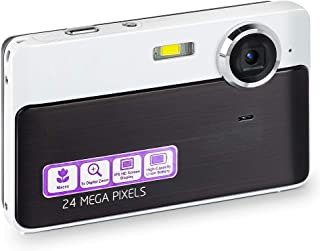 デジカメ デジタルカメラ 2400万画素 でじかめ 携帯便利 HD 1080P モバイルバッテリー内蔵 MicroSDカード &日本語システムサポート
