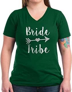 CafePress Bride Tribe Funny Brid T Shirt V-Neck T-Shirt