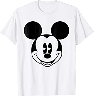 Mickey Mouse Smiling face Classic Graphic T-Shirt